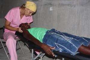 Dr. van der Mark in Haiti